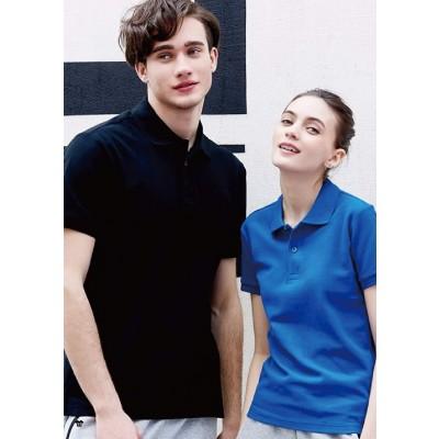 素色POLO衫-可加口袋/筆插一處30元【簡單k團體商品訂購】